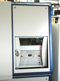 Laser source and controls were fully integrated. IPG 200W single mode laser with integrated controller.